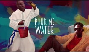 mr eazi pour me water instrumental beat