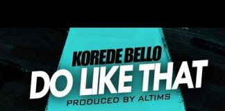 korede bello do like that instrumental