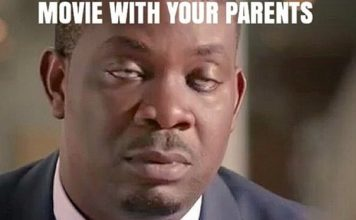 movie with your parent don jazzy funniest memes