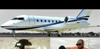 air obo davido private jet