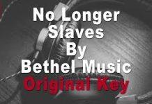 bethel no longer slaves instrumental