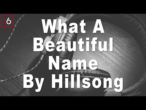 Gospel Instrumental: Hillsong - What a Beautiful Name (Beat