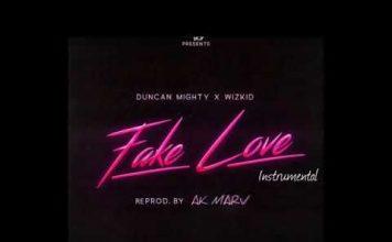 wizkid fake love ft duncan mighty