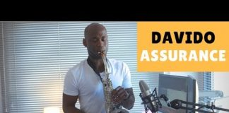 davido assurance sax version