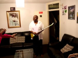 jesus is lord pranking my african dad