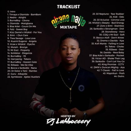 Download Ghana vs Naija Mix 2018 (By Dj Lahboceery)