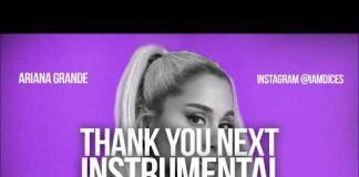 Ariana Grande Thank You Next Instrumental