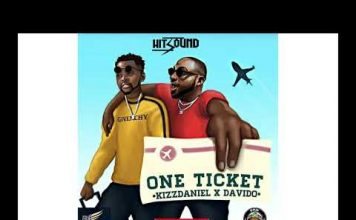 Kiss Daniel ft Davido One Ticket Instrumental