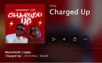 Masterkraft Dj Cuppy Charged_Up