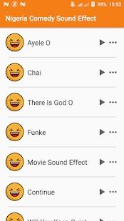 Naija Comedy Sound Effects