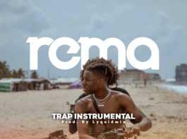 Rema Trap Type Instrumental Artwork