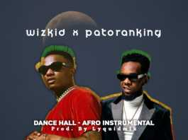 wizkid x patoranking Dance Hall artwork