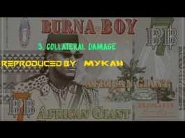 Burna Boy Collateral Damage Instrumental